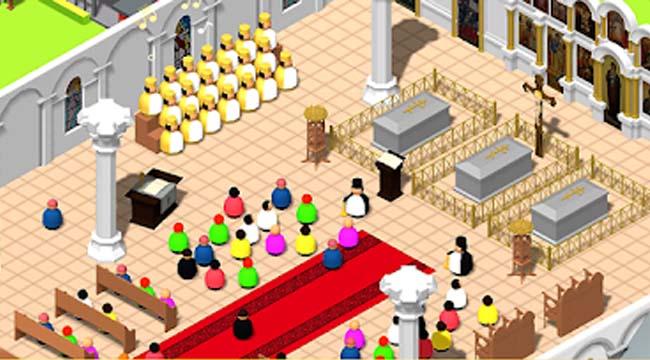 Idle Church Tycoon – Xây nhà thờ không tụ tập như hội thánh Phục Hưng