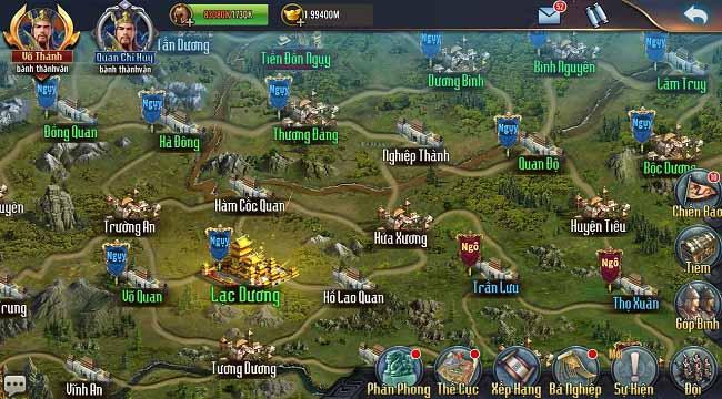 Chiến Tướng Tam Quốc – Game chiến thuật SLG với nhiều nội dung hấp dẫn