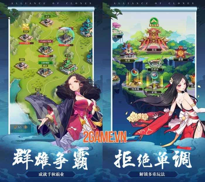 Đại Tỷ 3Q - Game Tam Quốc chỉ có tướng nữ sắp ra mắt game thủ Việt 2