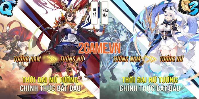 Đại Tỷ 3Q - Game Tam Quốc chỉ có tướng nữ sắp ra mắt game thủ Việt 0