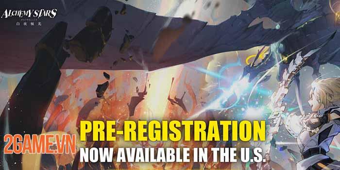 Alchemy Stars: Aurora Blast đạt một triệu lượt đăng ký ở các thị trường game lớn 1