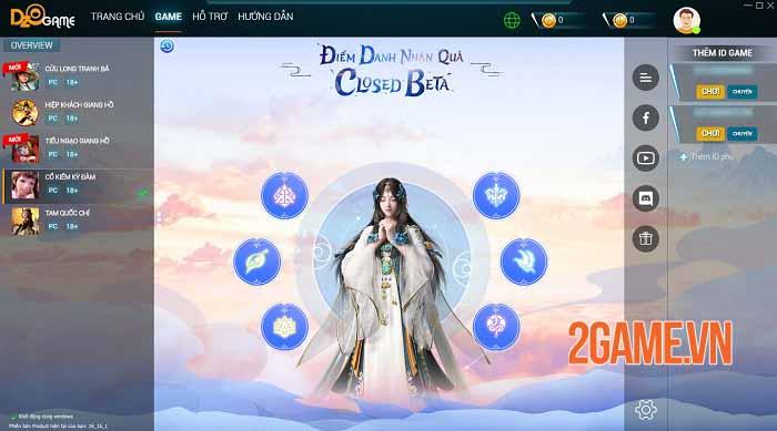 Thế giới tiên hiệp tuyệt đẹp của Cổ Kiếm Kỳ Đàm Online chính thức lộ diện tối nay 1