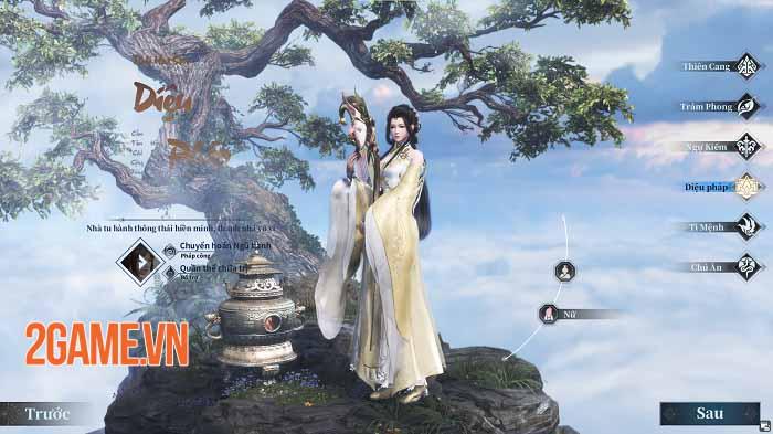 Thế giới tiên hiệp tuyệt đẹp của Cổ Kiếm Kỳ Đàm Online chính thức lộ diện tối nay 3