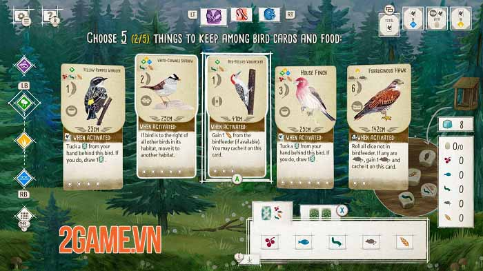 Wingspan - Game thẻ bài tạo cơ hội thể hiện đẳng cấp chơi chim chuyên nghiệp 0