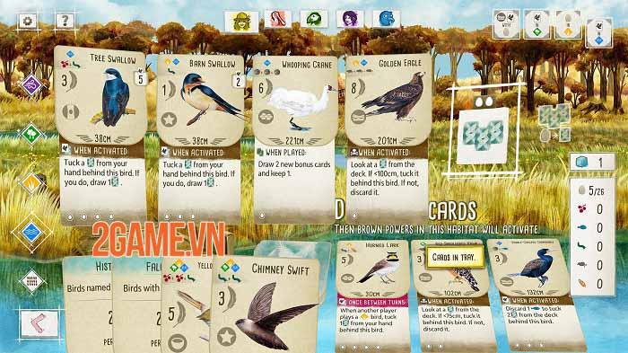 Wingspan - Game thẻ bài tạo cơ hội thể hiện đẳng cấp chơi chim chuyên nghiệp 1