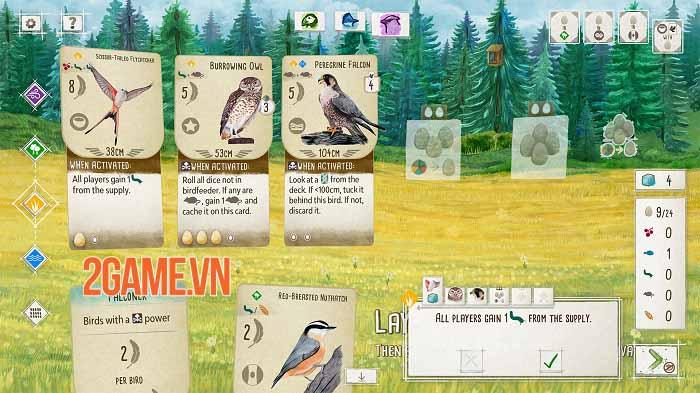 Wingspan - Game thẻ bài tạo cơ hội thể hiện đẳng cấp chơi chim chuyên nghiệp 3