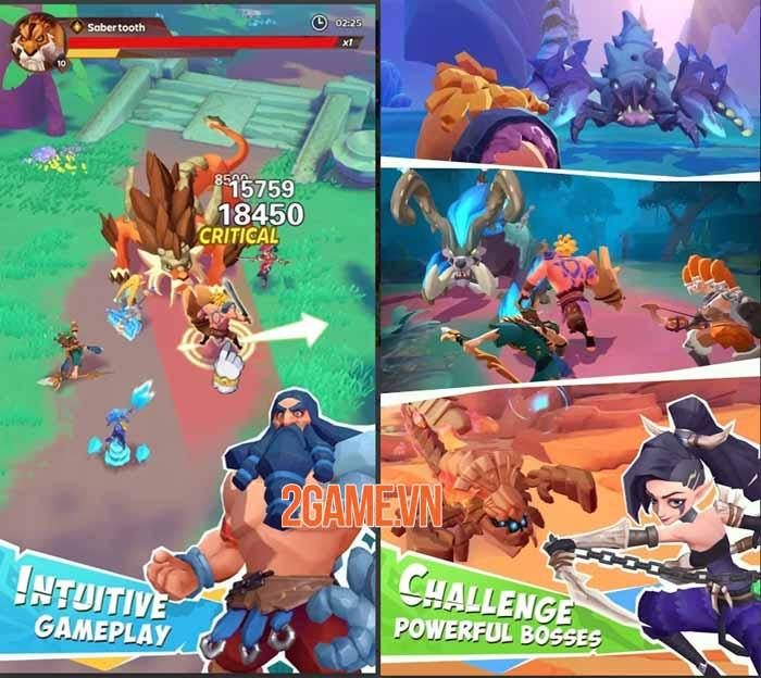 Age of Valanti: Tribe Heroes - Trải nghiệm chơi game nhập vai thư giãn và đơn giản 2
