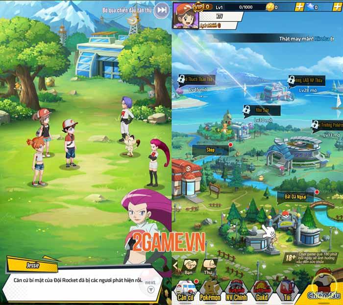 Trải nghiệm Siêu Thần Thú Mobile: Thế giới Pokemon quen thuộc và nhiều niềm vui 1