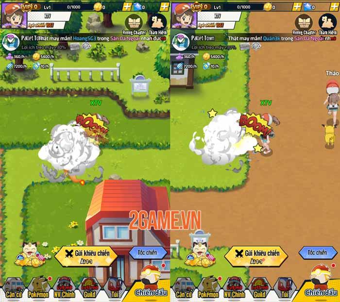 Trải nghiệm Siêu Thần Thú Mobile: Thế giới Pokemon quen thuộc và nhiều niềm vui 3
