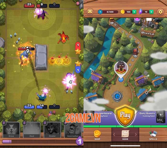 Spelldust - Game chiến thuật thời gian thực đề tài phù thủy thú vị 2