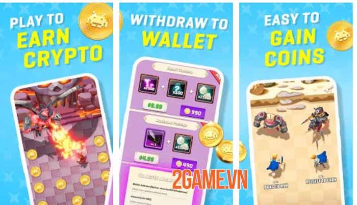 Boss Hunter: Earn Crypto Reward - Cuộc phiêu lưu giả tưởng đậm chất hành động 1