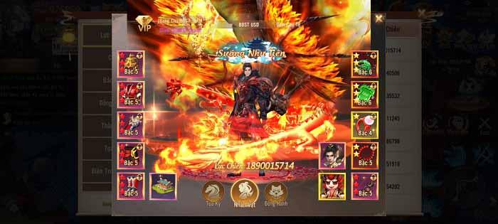 Cộng đồng Phong Khởi Trường An hết hồn với game thủ đạt 2 tỷ lực chiến sau 1 tuần 1