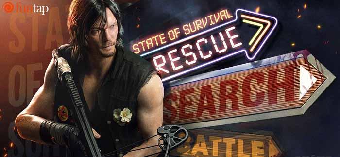 """Cú bắt tay lịch sử"" giữa State of Survival và The Walking Dead 0"