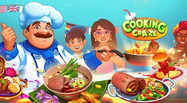 Cooking Craze – Game mobile gọn nhẹ giúp game thủ tìm hiểu ẩm thực