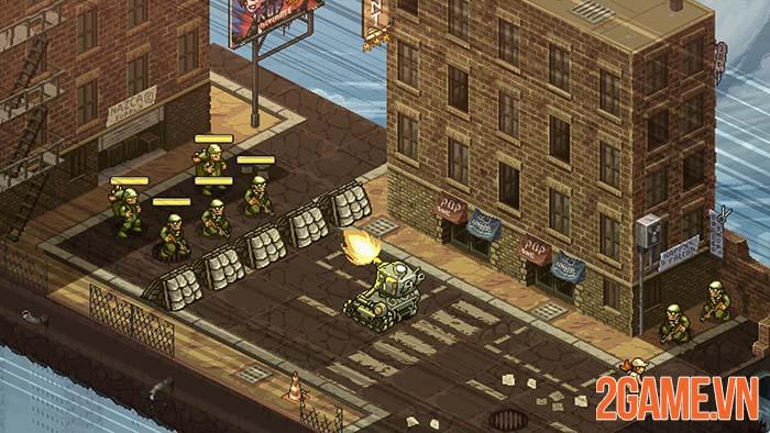 Metal Slug Tactics - Góc nhìn chiến thuật về game kinh điển Rambo lùn 3
