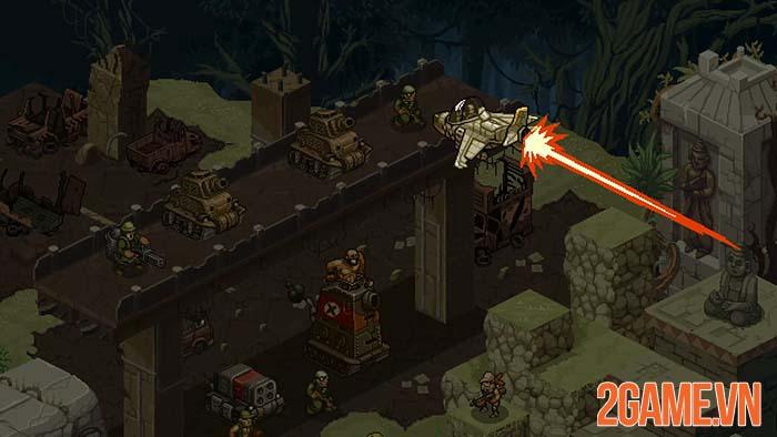 Metal Slug Tactics - Góc nhìn chiến thuật về game kinh điển Rambo lùn 4