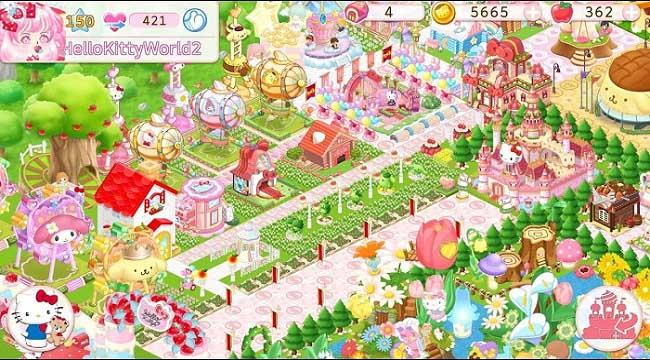 Hello Kitty Công Viên Huyền Ảo – Game quản lý công viên giải trí siêu hay về Việt Nam
