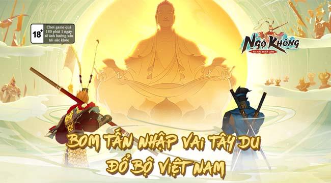 Ngộ Không: Đại Náo Thiên Cung – Game nhập vai đa nhân vật trên mobile