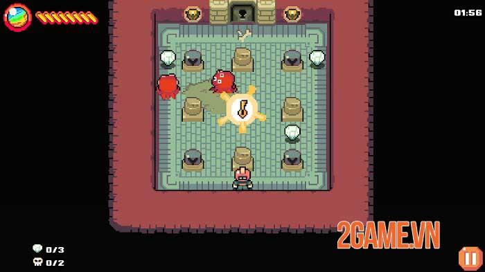 MAZEMAN - Game chạy mê cung đồ họa pixel lấy cảm hứng từ Pac-man 2