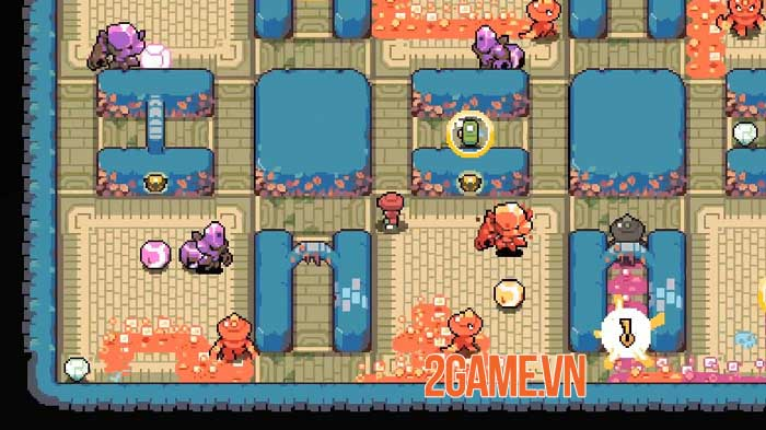 MAZEMAN - Game chạy mê cung đồ họa pixel lấy cảm hứng từ Pac-man 6