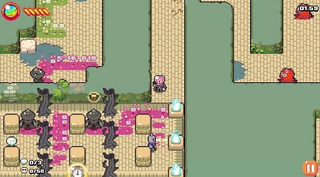 MAZEMAN – Game chạy mê cung đồ họa pixel lấy cảm hứng từ Pac-man