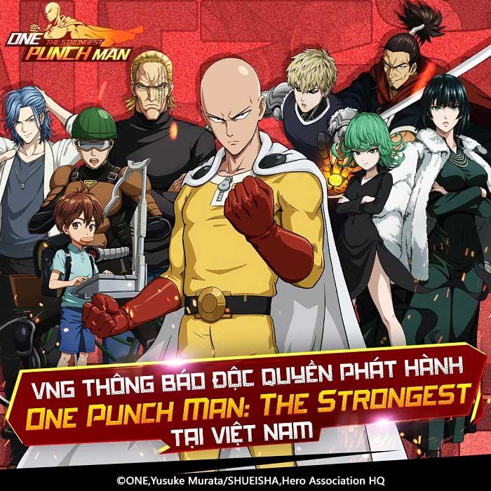 One Punch Man: The Strongest cho phép game thủ đăng ký tải trước 0
