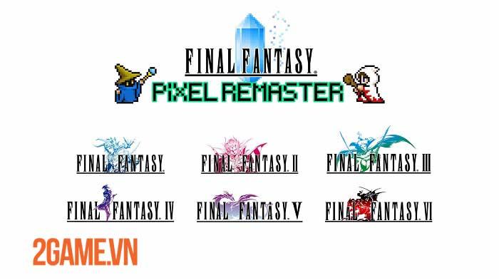 Final Fantasy Pixel Remaster - Bộ sưu tập 6 game Final Fantasy đầu tiên sắp ra mắt 0