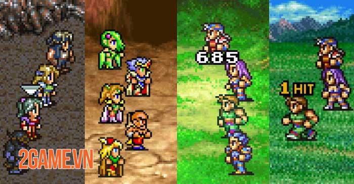 Final Fantasy Pixel Remaster - Bộ sưu tập 6 game Final Fantasy đầu tiên sắp ra mắt 2
