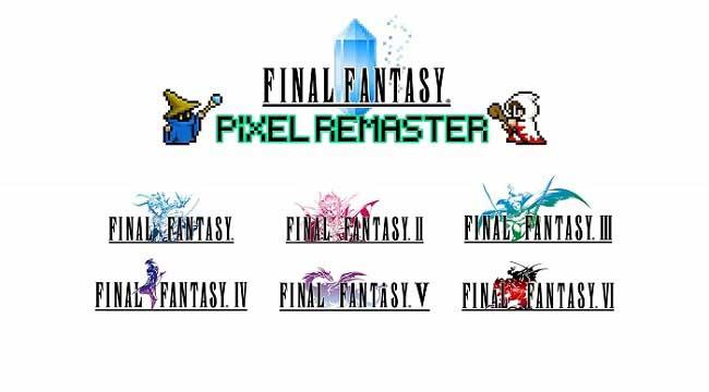 Final Fantasy Pixel Remaster – Bộ sưu tập 6 game Final Fantasy đầu tiên sắp ra mắt