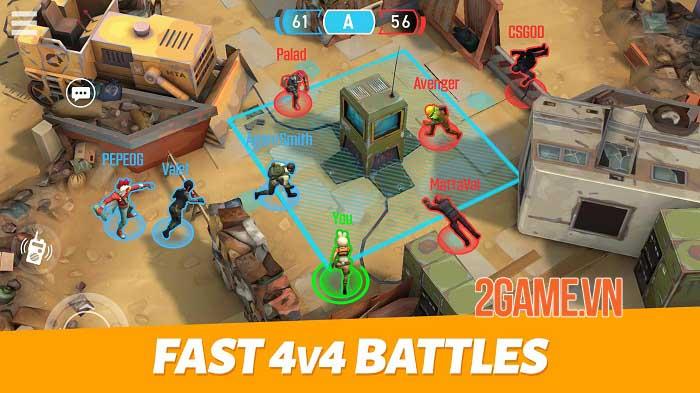 Outfire - Game bắn súng 4v4 tiết tấu nhanh, hiệu ứng đơn giản mà tinh tế 0