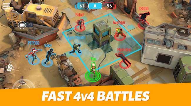 Outfire – Game bắn súng 4v4 tiết tấu nhanh, hiệu ứng đơn giản mà tinh tế
