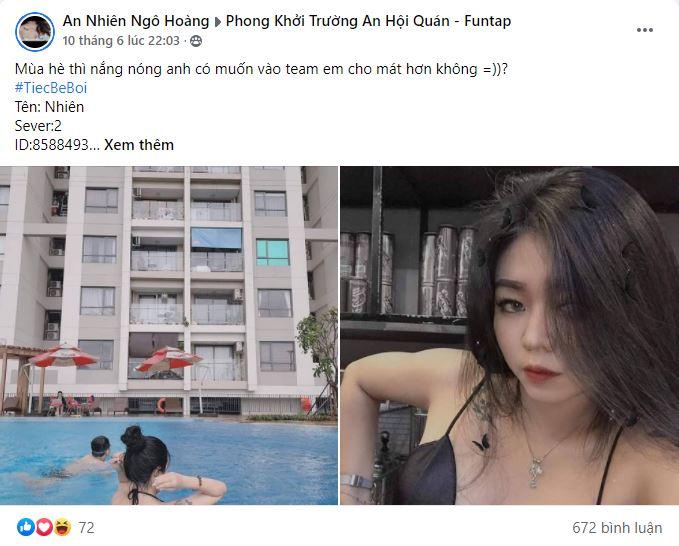 Phong Khởi Trường An mở tiệc bể bơi cùng những bóng hồng nóng bỏng 2