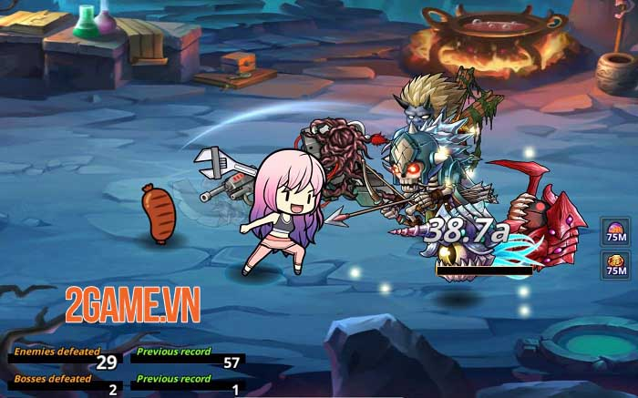 Pow Pow Dungeon - Game nhập vai hành động nhàn rỗi với thiết kế vui nhộn 3
