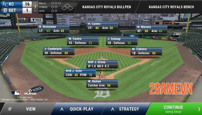 OOTP Baseball Go - Series game quản lý bóng chày nổi tiếng của Com2uS 1
