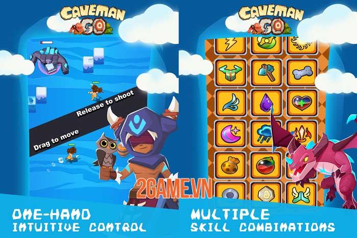 Caveman Go - Game hành động chiến lược điều khiển chỉ bằng một tay 1