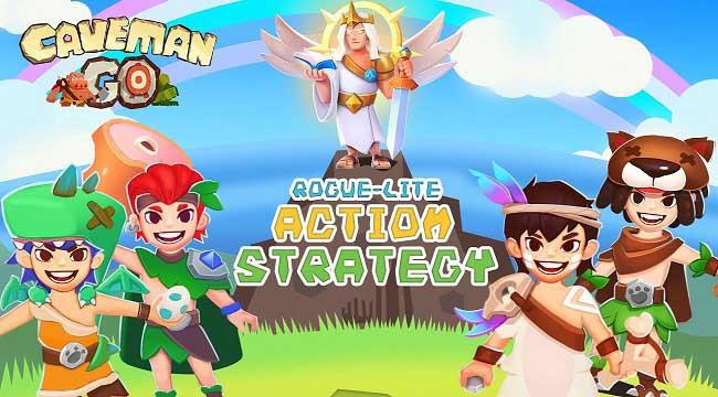 Caveman Go – Game hành động chiến lược điều khiển chỉ bằng một tay