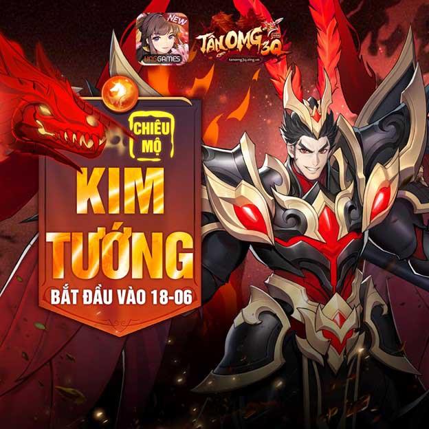 Tăng kim Tướng đỏ, đột phá Kim Tướng cùng Tân OMG3Q VNG giúp cân team cực mạnh 3