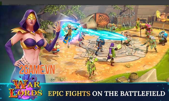 Warlords - Game nhập vai PVP đánh theo lượt phong cách fantasy thu hút 0