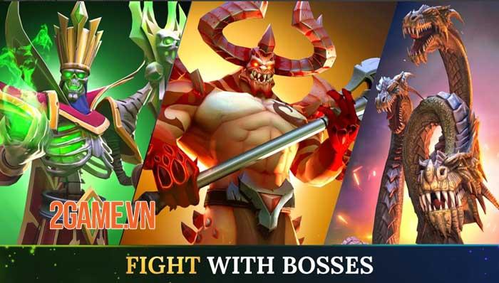 Warlords - Game nhập vai PVP đánh theo lượt phong cách fantasy thu hút 1