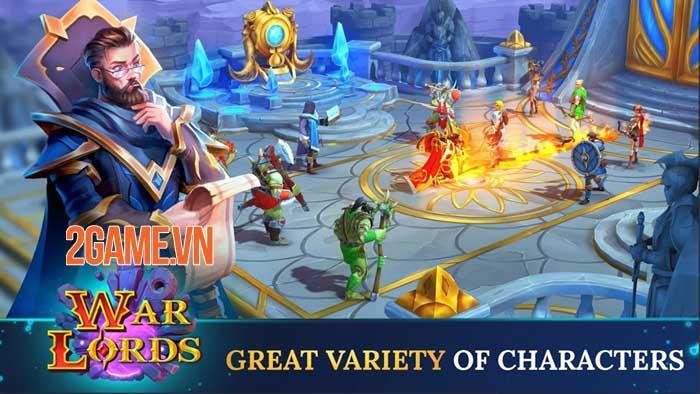Warlords - Game nhập vai PVP đánh theo lượt phong cách fantasy thu hút 2
