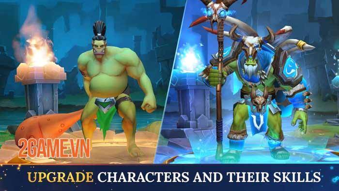 Warlords - Game nhập vai PVP đánh theo lượt phong cách fantasy thu hút 3