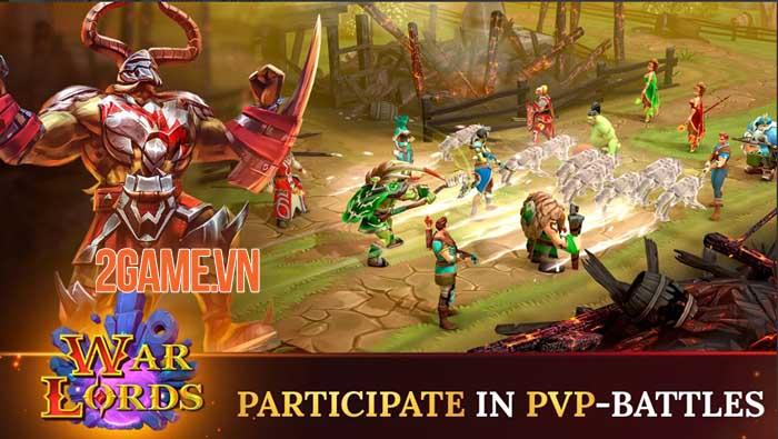 Warlords - Game nhập vai PVP đánh theo lượt phong cách fantasy thu hút 4