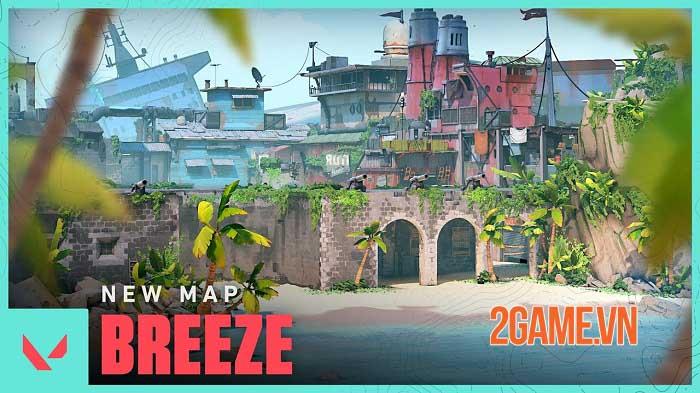 Bản đồ Breeze trong Valorant Act 3 chính thức lộ diện 0