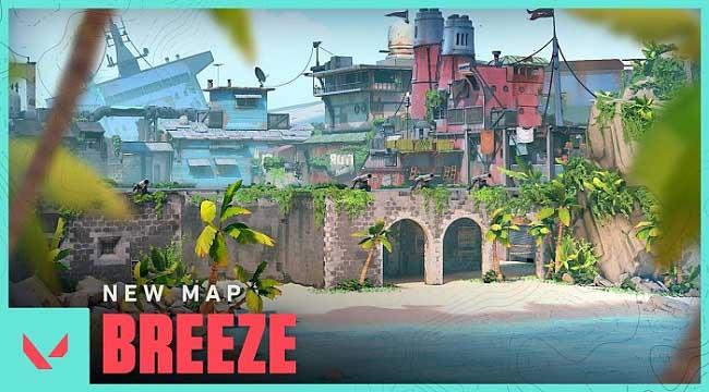 Bản đồ Breeze trong Valorant Act 3 chính thức lộ diện