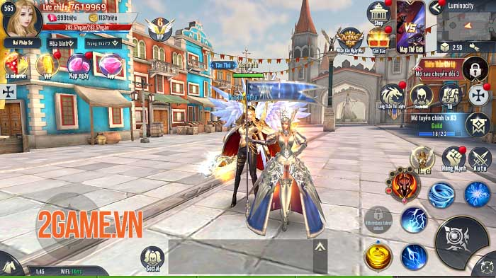 Cộng đồng Vùng Đất Bí Ẩn - Land of Doran Việt Nam hào hứng tải trước game 1