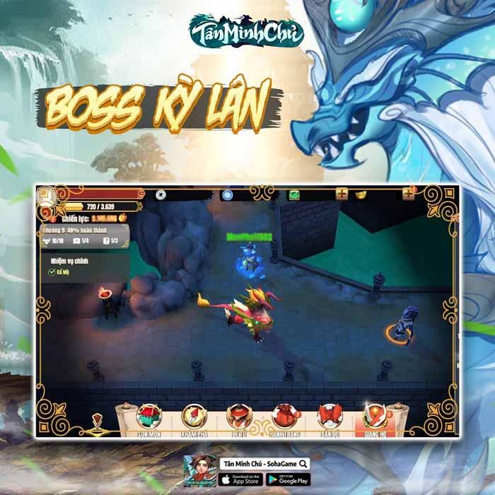 Tặng 300 giftcode Tân Minh Chủ mừng Big Update 5.0 2