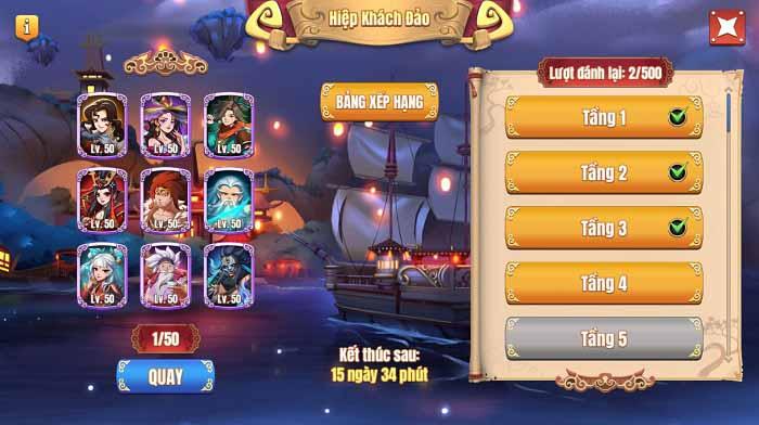 Tặng 300 giftcode Tân Minh Chủ mừng Big Update 5.0 5