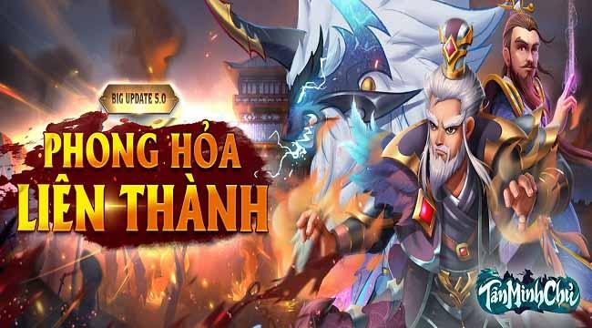 Tặng 300 giftcode Tân Minh Chủ mừng Big Update 5.0