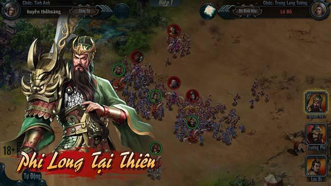Chiến Tướng Tam Quốc – Game chiến thuật điều binh khiển tướng hấp dẫn sắp ra mắt