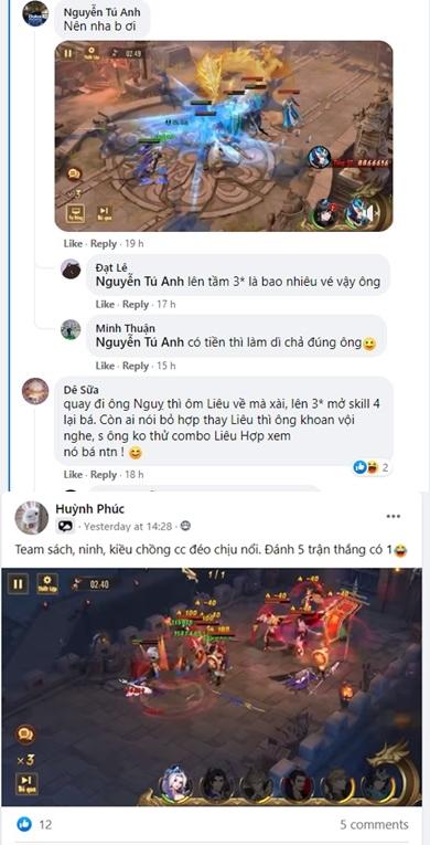 Cộng đồng nói gì về những vị Kim Tướng trong phiên bản mới của Tân OMG3Q VNG? 4